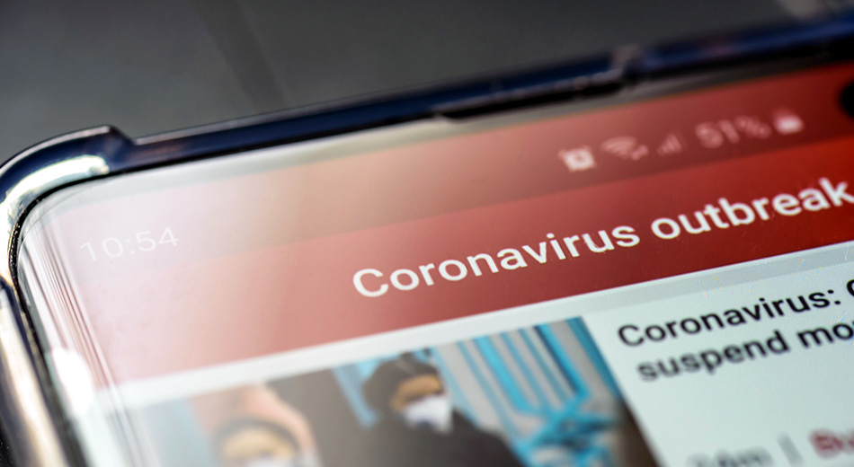District Message From Bishop Davidson Concerning the Coronavirus Covid-19