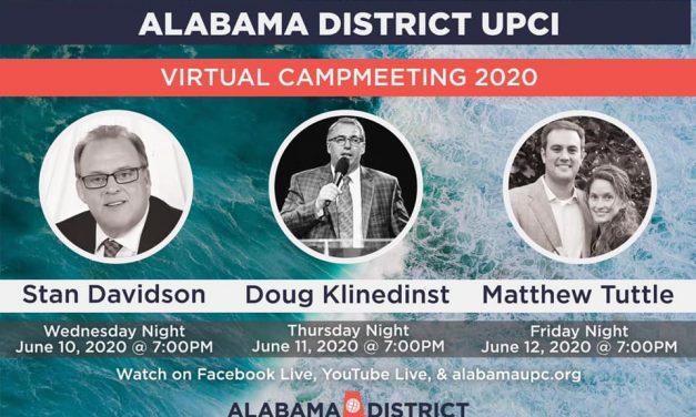 Virtual Camp Meeting 2020