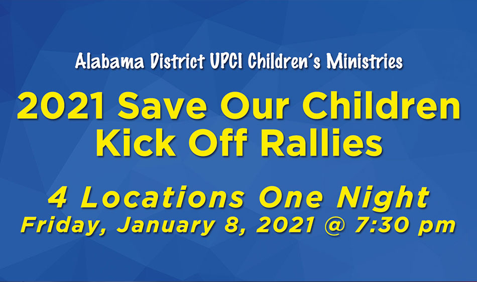 2021 Save Our Children Kick Off Rallies
