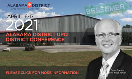 Alabama District UPCI Ministers Conference 2021