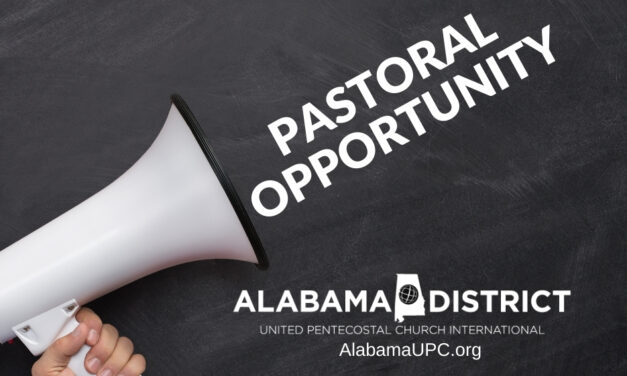 Pastoral Opportunity in Vincent Alabama